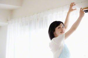 カーテンを清潔に保つ